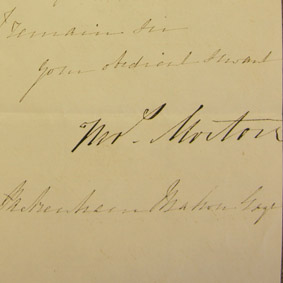 Mr. Morton to Henry Sandford Pakenham-Mahon, 9 May 1848