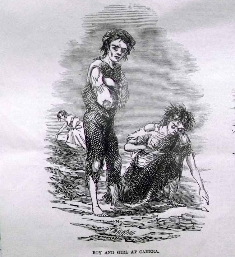 Famine pictures from the Illustrated London News