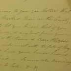 Letter to James Flemming, November 14 1847