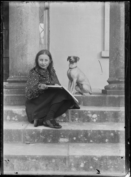 Olive with a Jack Russel